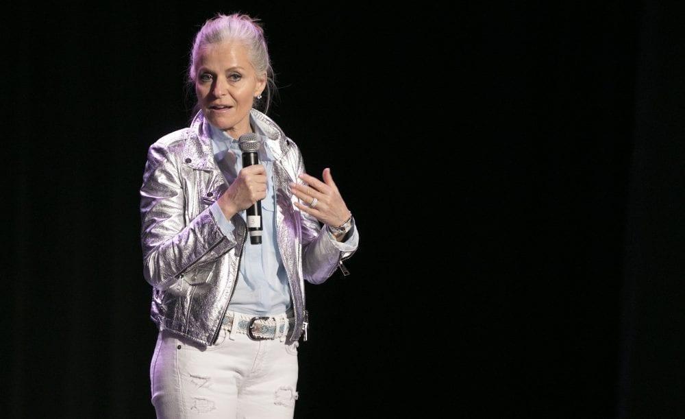 Photo Isabelle Hudon sur scène